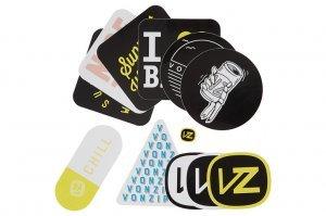 VonZipper Sticker Pack